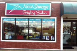 New Image Styling Salon Store Front